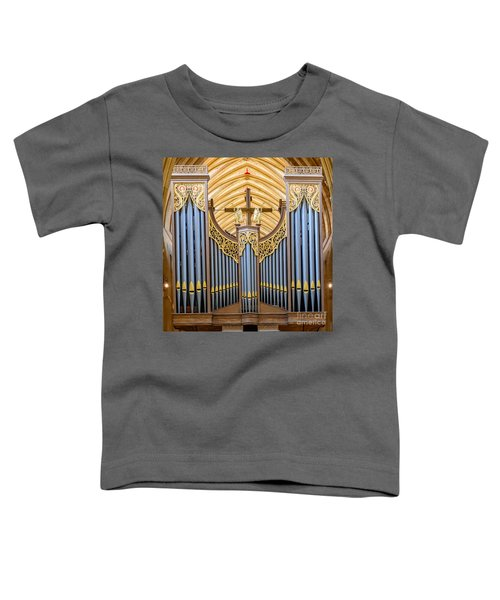 Wells Cathedral Organ Toddler T-Shirt