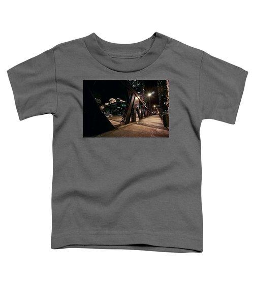 Wells Street Bridge - Chicago Toddler T-Shirt