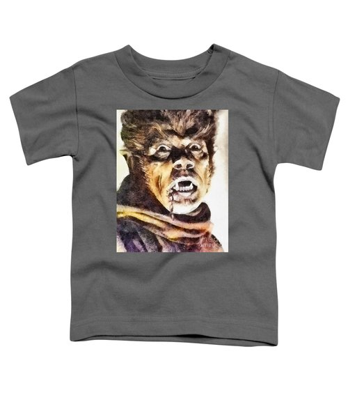 Werewolf Of London 1935, Vintage Horror Toddler T-Shirt