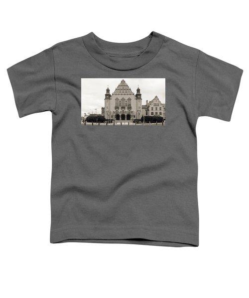 West Facade Of Adam Mickiewicz University Poznan Poland Toddler T-Shirt
