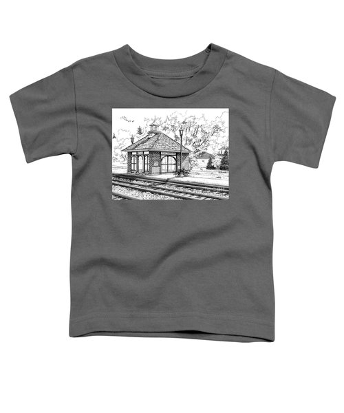 West Hinsdale Train Station Toddler T-Shirt
