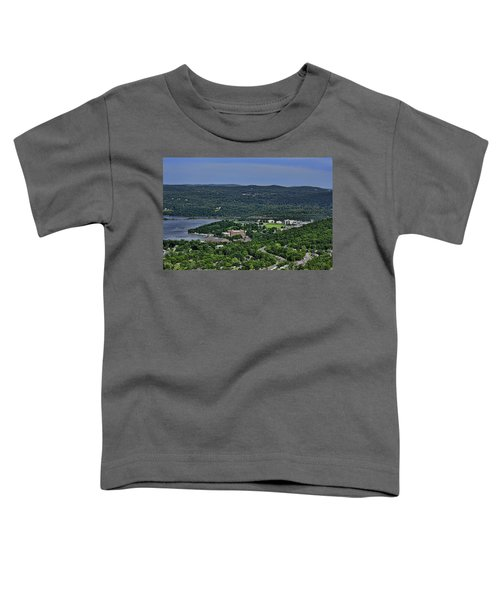 West Point From Storm King Overlook Toddler T-Shirt