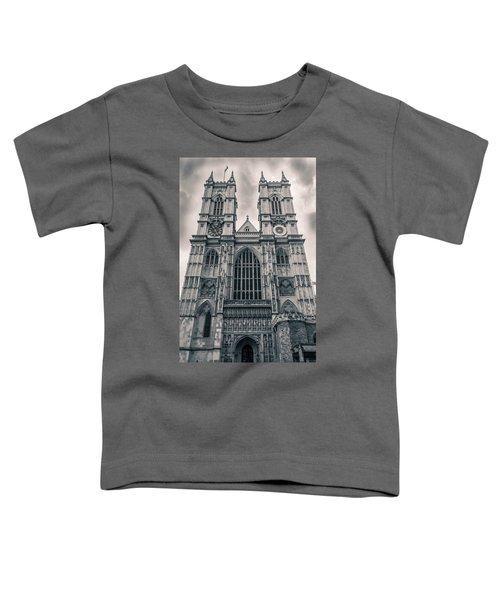 Westminister Abbey Bw Toddler T-Shirt