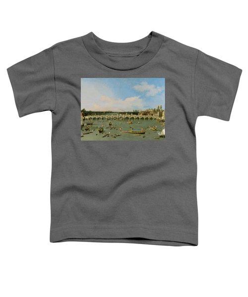 Westminster Bridge - London Toddler T-Shirt