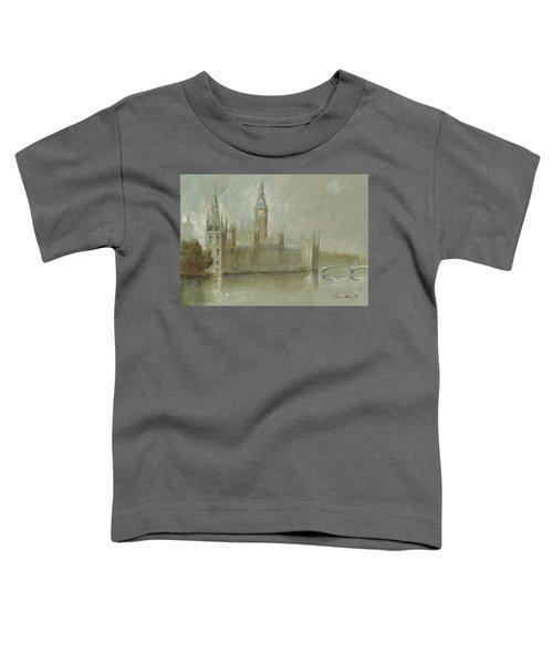 Westminster Palace And Big Ben London Toddler T-Shirt