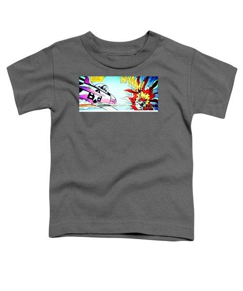 Whaam - Roy Lichtenstein  Toddler T-Shirt