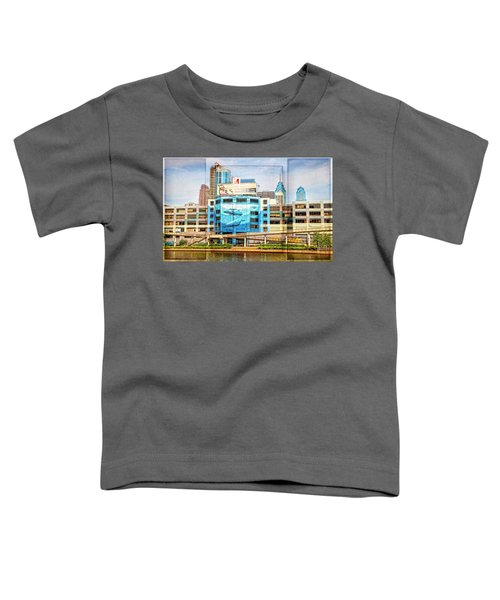 Whales In The City Toddler T-Shirt