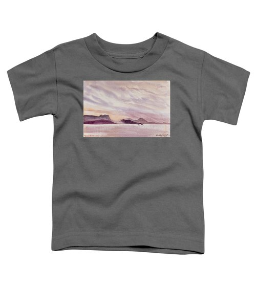 Whangarei Heads At Sunrise, New Zealand Toddler T-Shirt