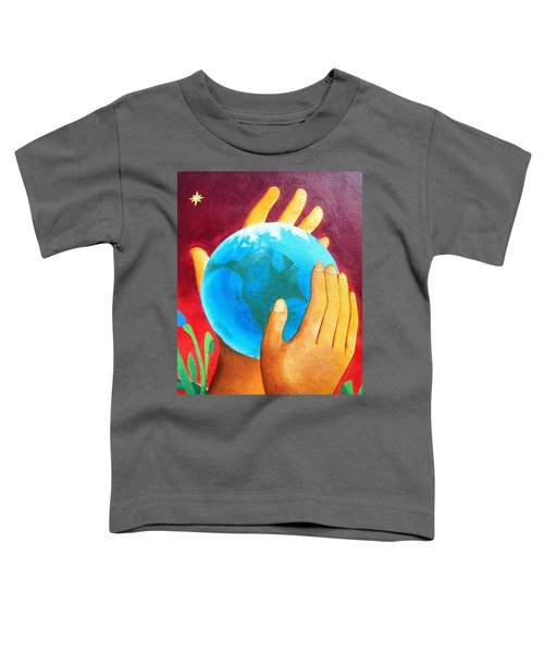 What A Wonderful World ... Toddler T-Shirt
