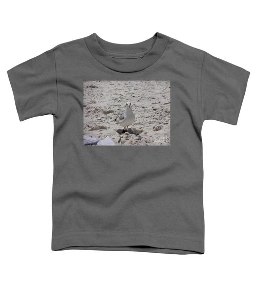 What's Up? Toddler T-Shirt by Megan Cohen