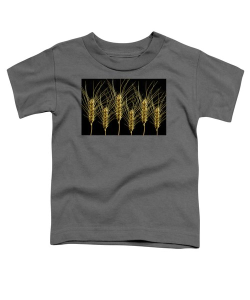 Wheat In A Row Toddler T-Shirt
