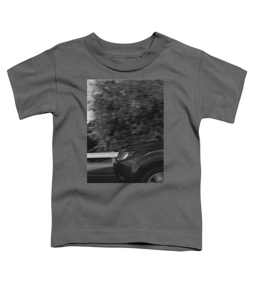 Wheel Blur Photograph Toddler T-Shirt