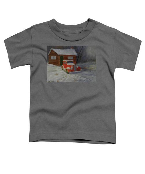 When Cars Were Big And Homes Were Small Toddler T-Shirt