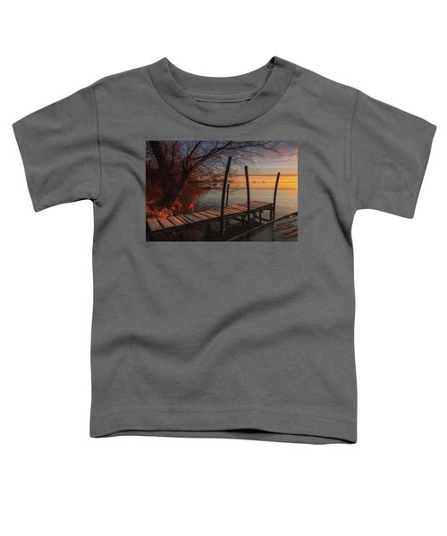 When The Light Touches The Shore Toddler T-Shirt
