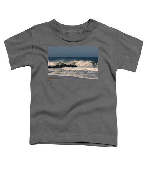 When The Ocean Speaks - Jersey Shore Toddler T-Shirt