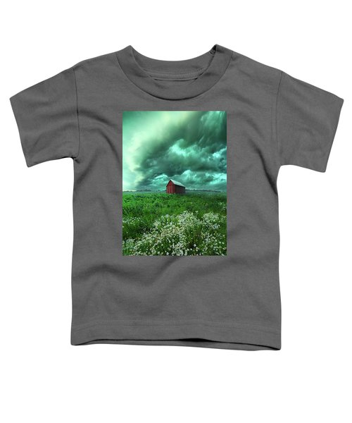 When The Thunder Rolls Toddler T-Shirt