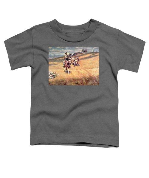 When Wagon Trails Were Dim Toddler T-Shirt