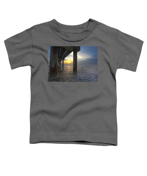 Where The Sand Meets The Surf Toddler T-Shirt