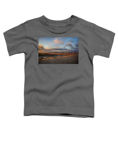 Where The Years Behind Are Piled Up High Toddler T-Shirt