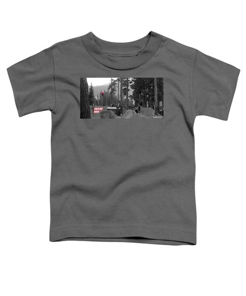 Whipoff In Red Toddler T-Shirt