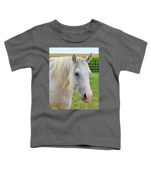 White Beauty Toddler T-Shirt