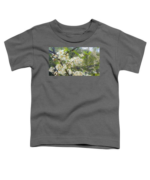 White Blossoms On Fruit Tree Toddler T-Shirt