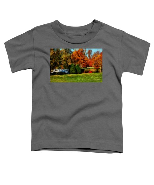 White Bridge Oro Toddler T-Shirt