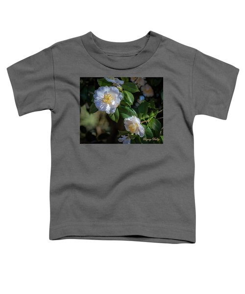 White Camelia 02 Toddler T-Shirt