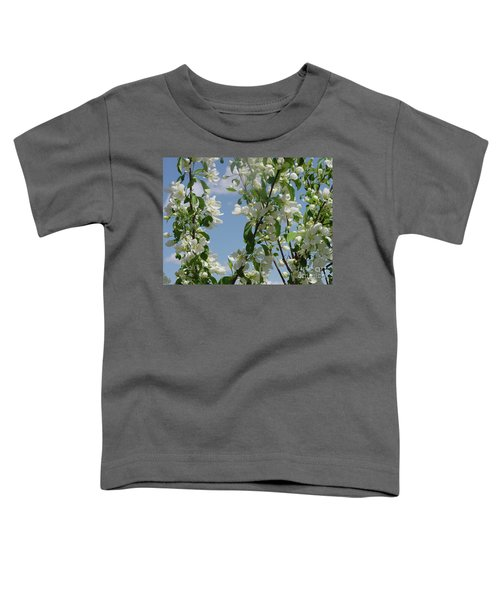 White Crabapple Toddler T-Shirt