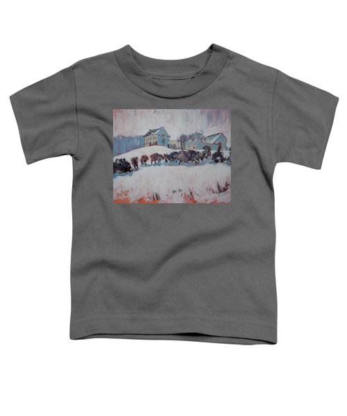White Hill Zonneberg Maastricht Toddler T-Shirt by Nop Briex