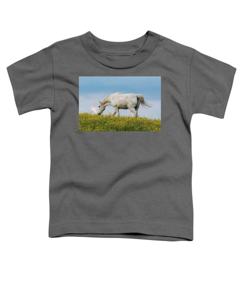 White Horse Of Cataloochee Ranch 2 - May 30 2017 Toddler T-Shirt