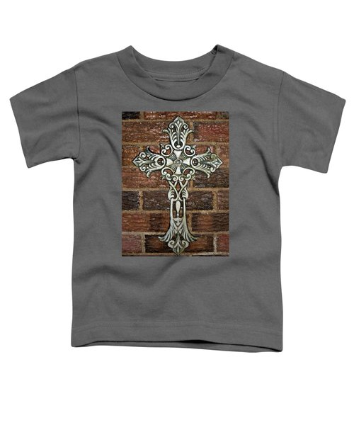 White Iron Cross 1 Toddler T-Shirt