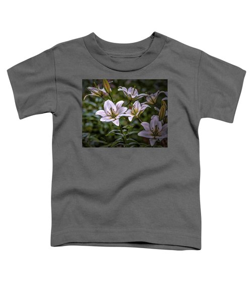 White Lilies #g5 Toddler T-Shirt