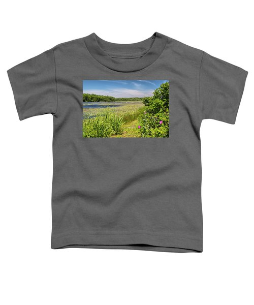 White Lily Pond  Toddler T-Shirt