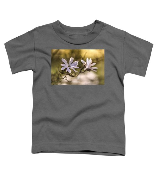 Toddler T-Shirt featuring the photograph White Magnolia by Jaroslaw Blaminsky