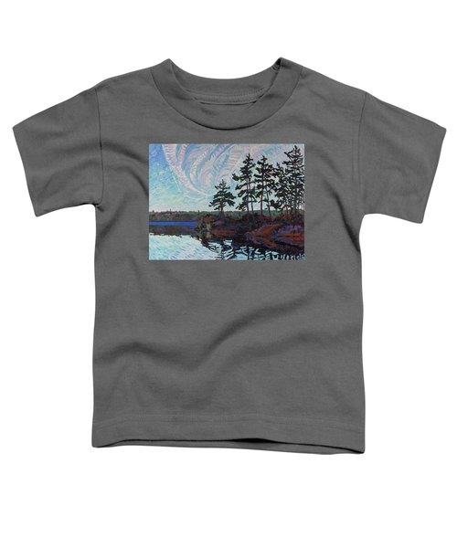 White Pine Island Toddler T-Shirt