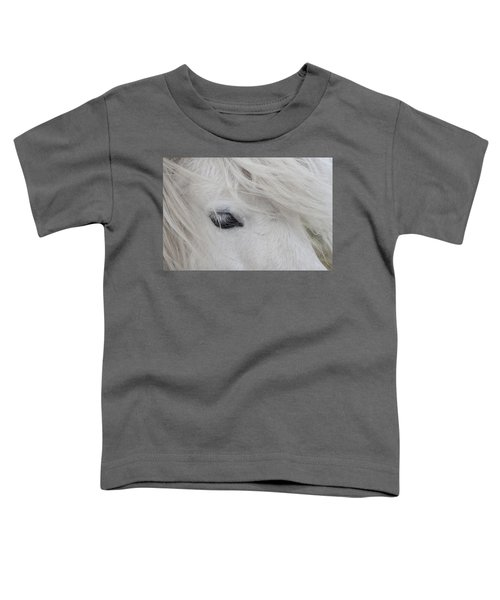 White Pony Toddler T-Shirt