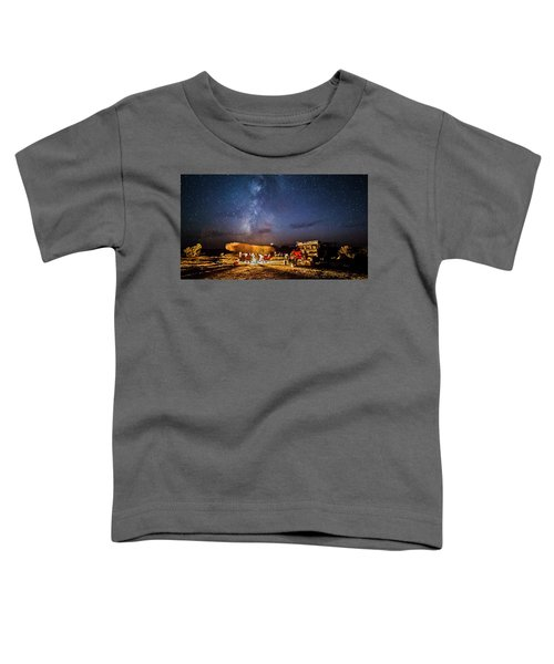 White Rim Camp Toddler T-Shirt
