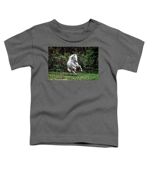 White Stallion Toddler T-Shirt