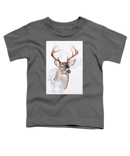 White-tailed Deer Toddler T-Shirt
