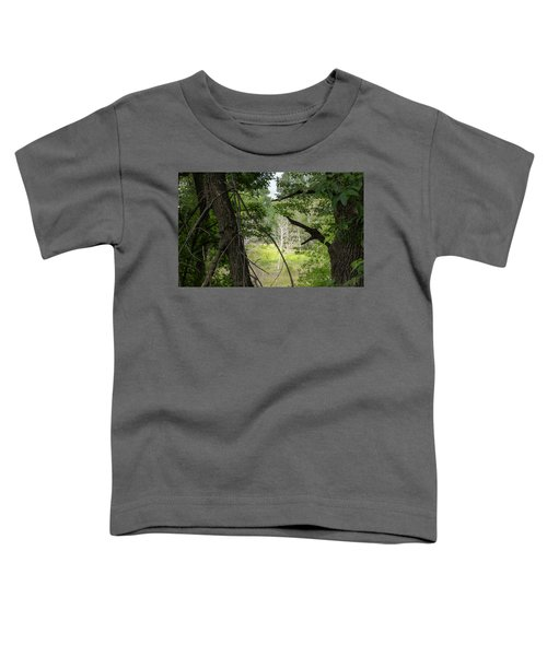 White Tree In Magic Forest Toddler T-Shirt