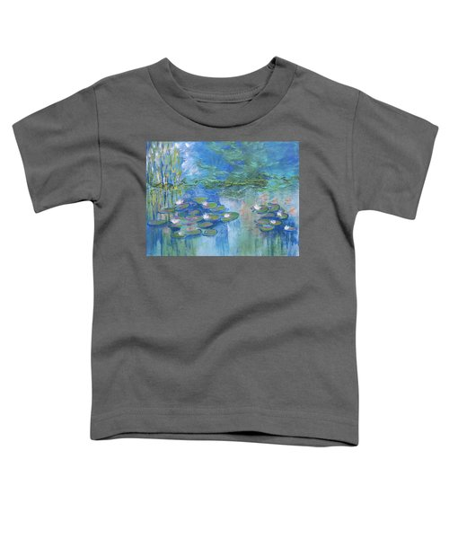 White Water Lilies Toddler T-Shirt