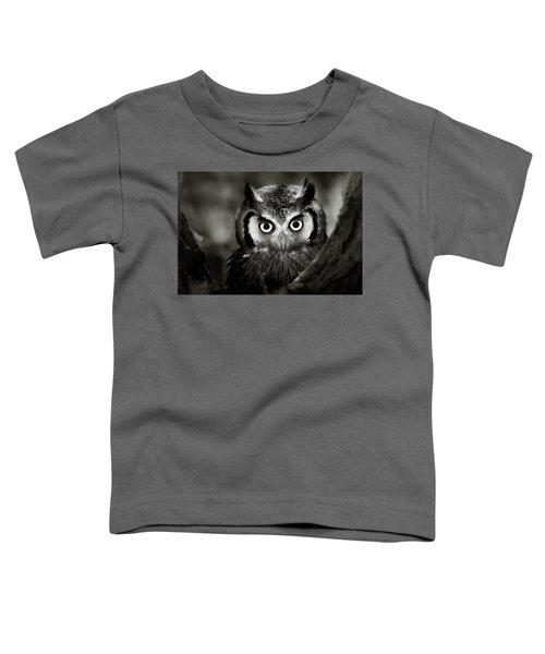 Whitefaced Owl Toddler T-Shirt