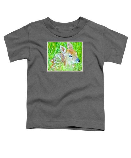 Whitetailed Deer Fawn Toddler T-Shirt