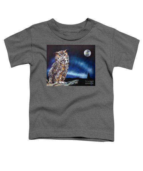 Who Doesn't Love The Night Toddler T-Shirt