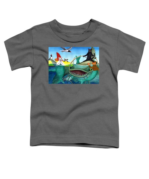 Wicked Kitty's Catfish Toddler T-Shirt