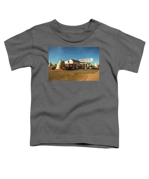 Wigwam Motel Toddler T-Shirt