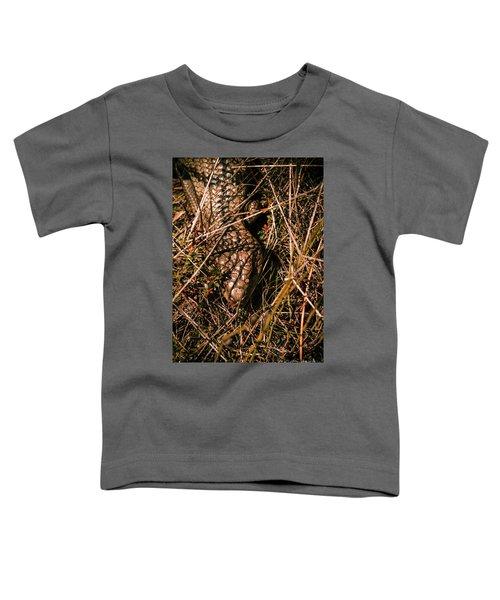 Wild Australian Blue Tongue Lizard Toddler T-Shirt