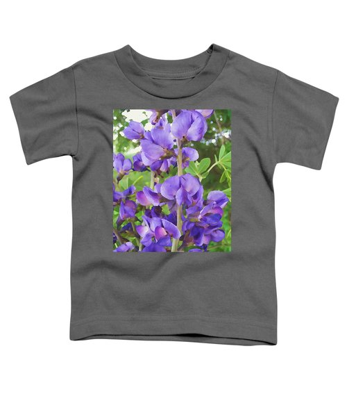 Wild Blue False Indigo Toddler T-Shirt