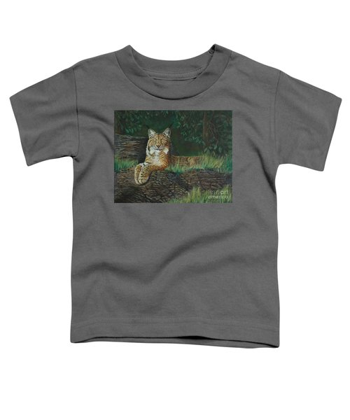 The Ever Watchful Lynx Toddler T-Shirt